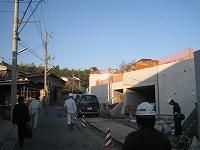 川崎の現場です。