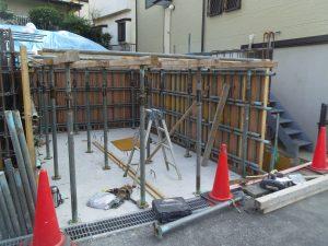 【注文住宅】 家と共に先々の利用を考える設計、しっかり施工の地下車庫です!